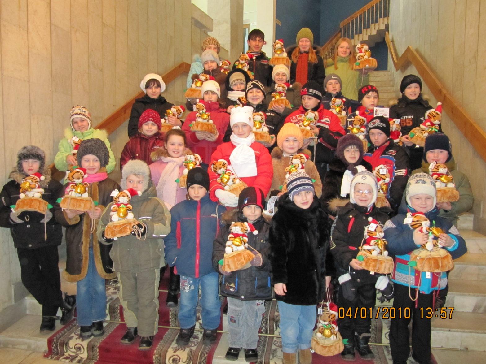 Новогоднее представление в Смоленске 2010 год
