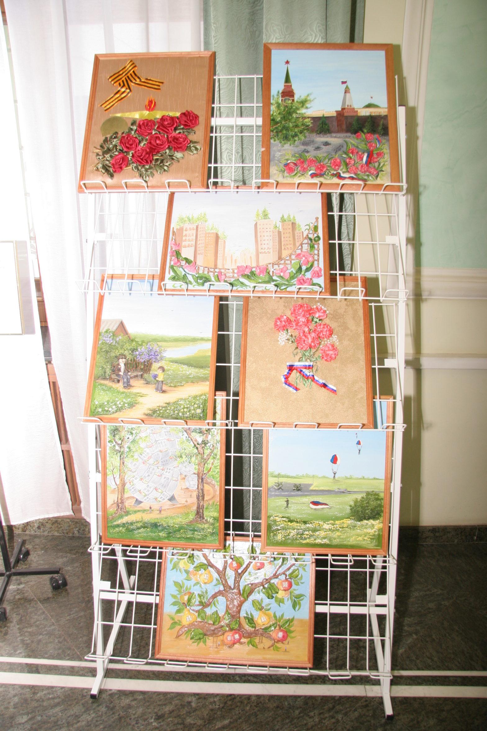 Выставка детских работ в Тогрово-промышленной палате Российской Федерации