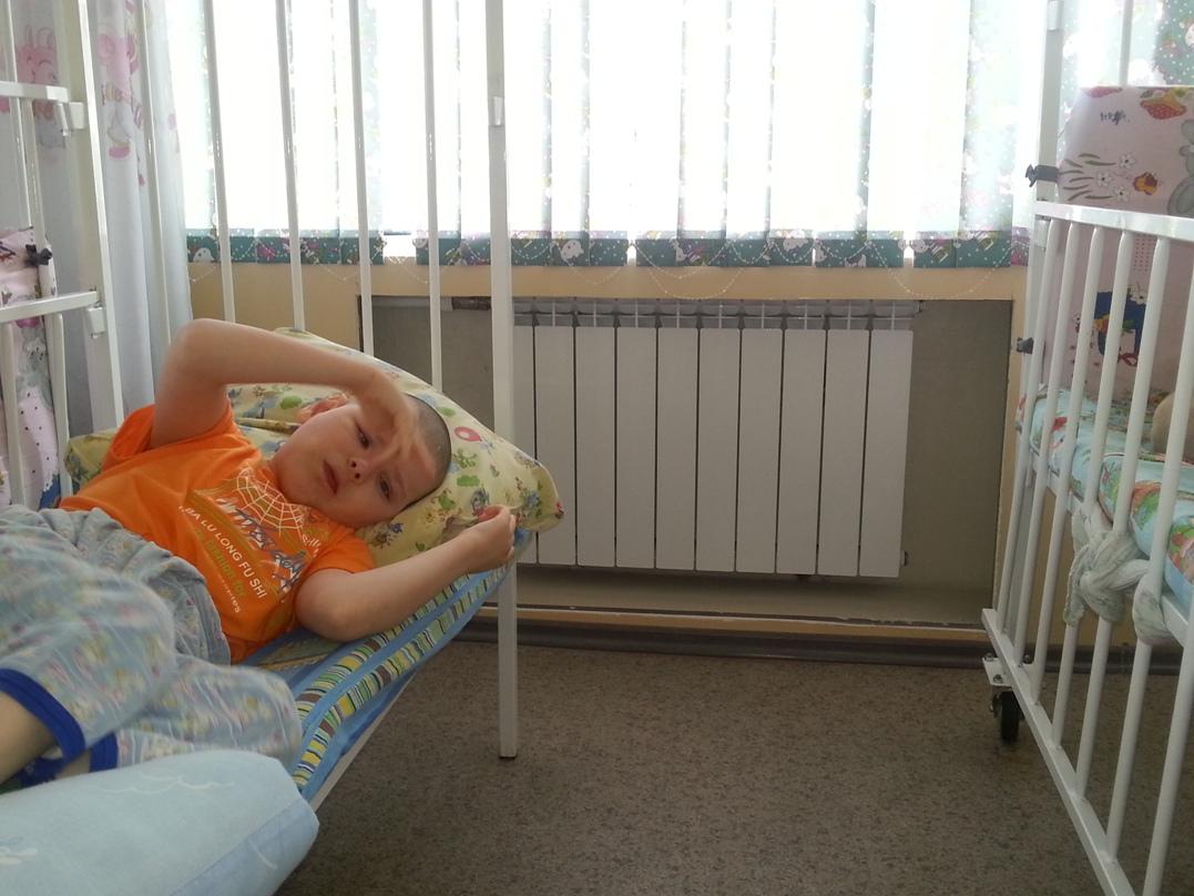 Благодаря Фонду в Зверевском детском доме-интернате произвели замену радиаторов отопления