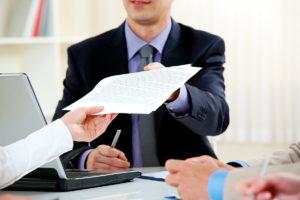 Подготовка и подача документов на регистрацию