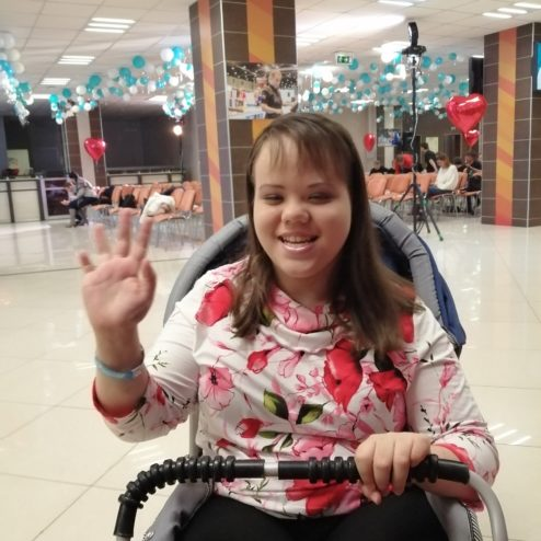 Хмельницкая Оля - 14 лет