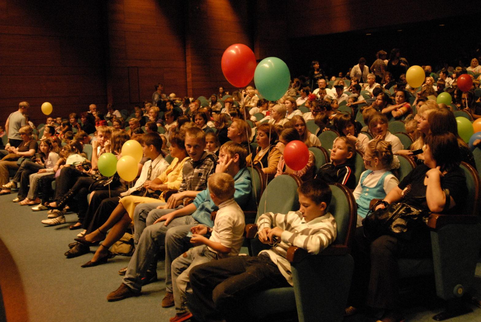 Фонд провел благотворительный праздник к Международному дню защиты детей 2009 года