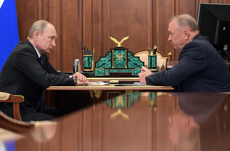 На встрече Владимира Путина и Сергея Катырина обсуждался наш фонд
