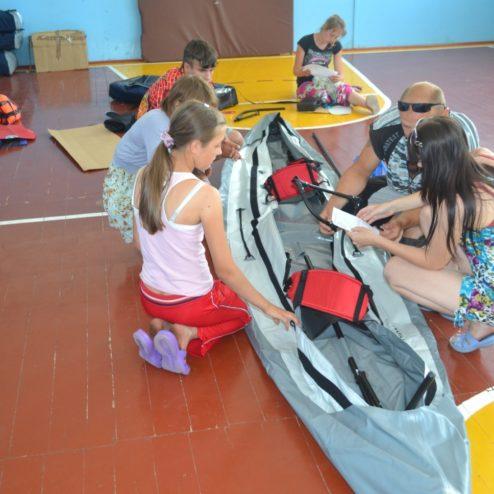 Фонд приобрел туристическое оборудование для Караульского детского дома им.Г.В.Чичерина