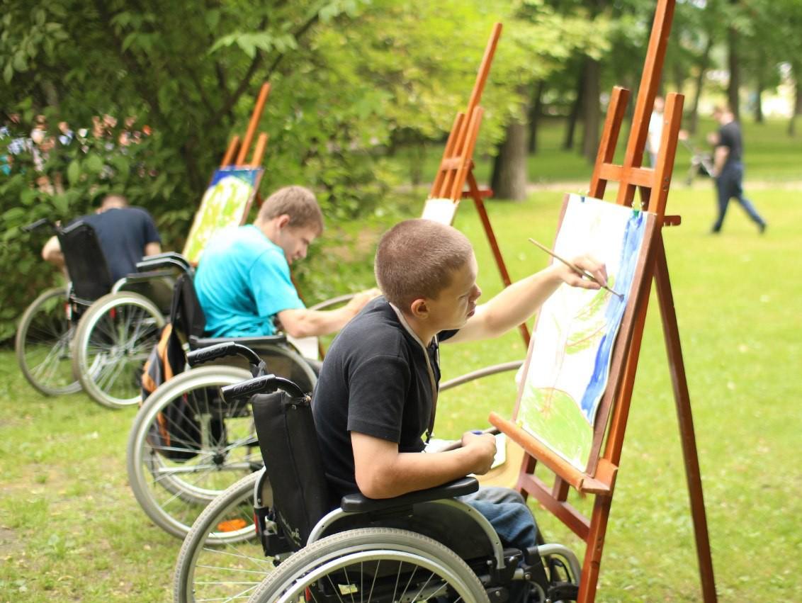 Помощь инвалиду картинка