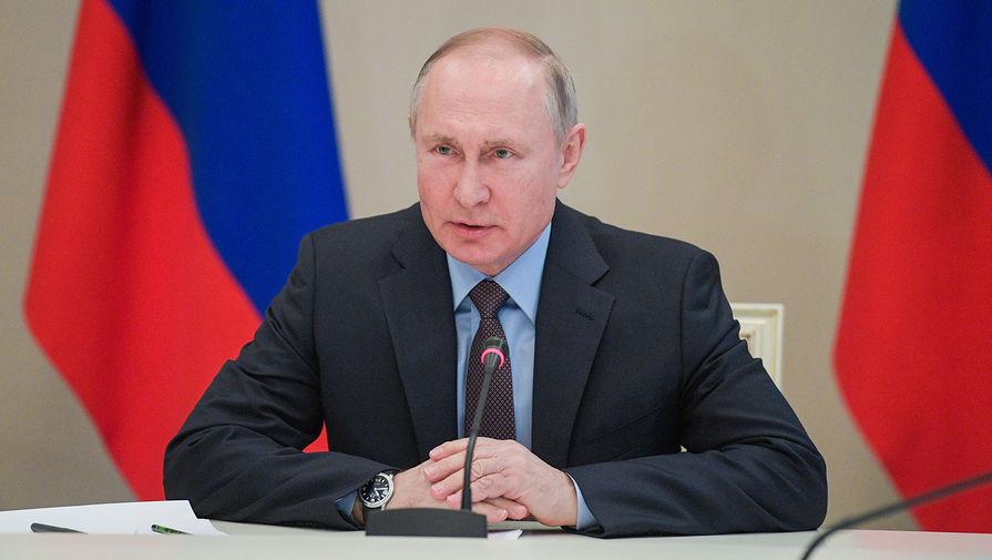Президент РФ Владимир Путин узаконил благотворительные взносы наличными